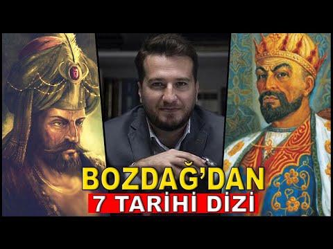 MEHMET BOZDAĞ'DAN 7 YENİ TARİHİ DİZİ GELİYOR!