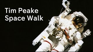 Tim Peake spacewalk - watch live