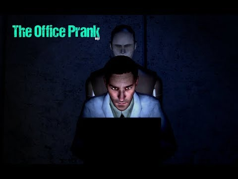 So I installed a mod for Portal 2... - The Office Prank: Mannequins (part 1)