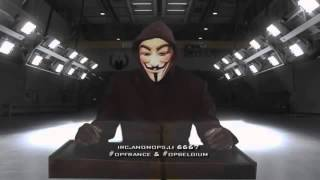 Anonymous officiel HACK TF1 en direct