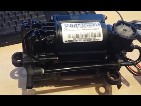 Part 2 W220 Airmatic Testing Air compressor and fixing notes