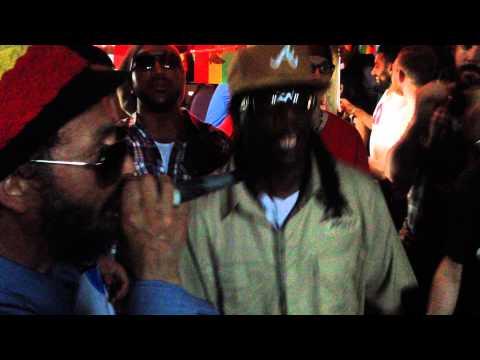 Ramon Judah & Dark Angel inna combination style @ Reggae Roast's Sunday Skank  June 2014