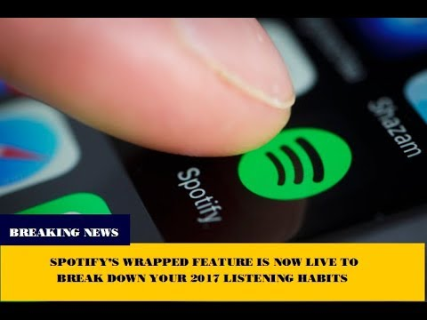 My 2017 wrapped spotify | Spotify 2017 wrapped
