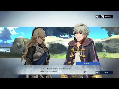 Fire Emblem Warriors - Corrin (F/M) & Robin (M/F) Support Conversation