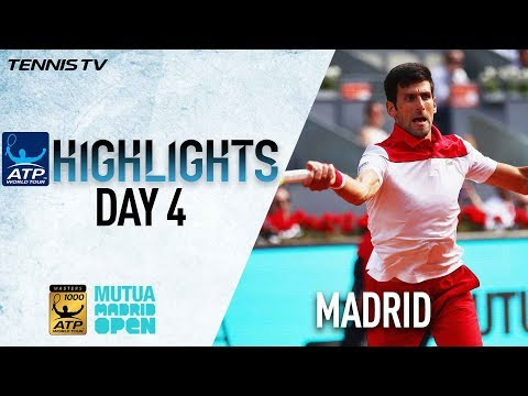 Highlights: Djokovic Hits 26 Winners, Moves Past Nishikori In Madrid