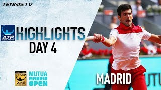 Highlights: Djokovic Hits 26 Winners, Moves Past Nishikori In Madrid