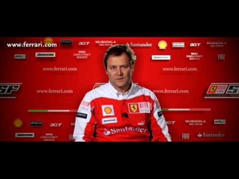 Ferrari F10 launch - Aldo Costa interview