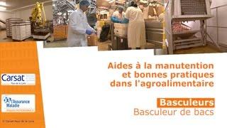 Basculeurs - Basculeur de bacs
