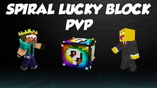 MINECRAFT SPIRAL LUCKY BLOCK PVP | COKOLADNA KUCICA | NEW INTRO BY: COGU