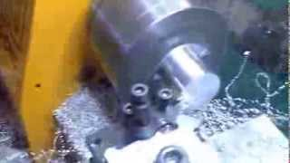 Emco Compact 5 CNC Lathe - Machining - Model Engine Backplate Thumbnail