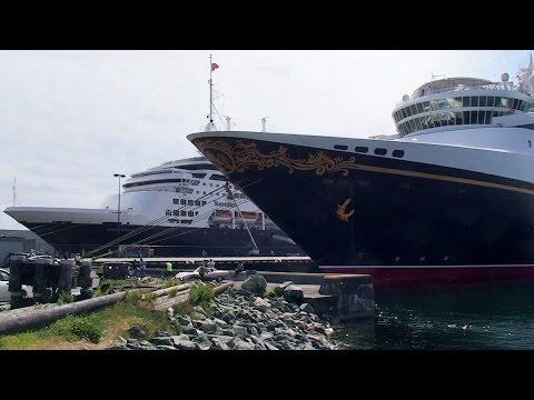 "Cruise Ship ""Disney Wonder"" • Victoria, Vancouver Island, Canada • Butchart Gardens • May 19, 2012"