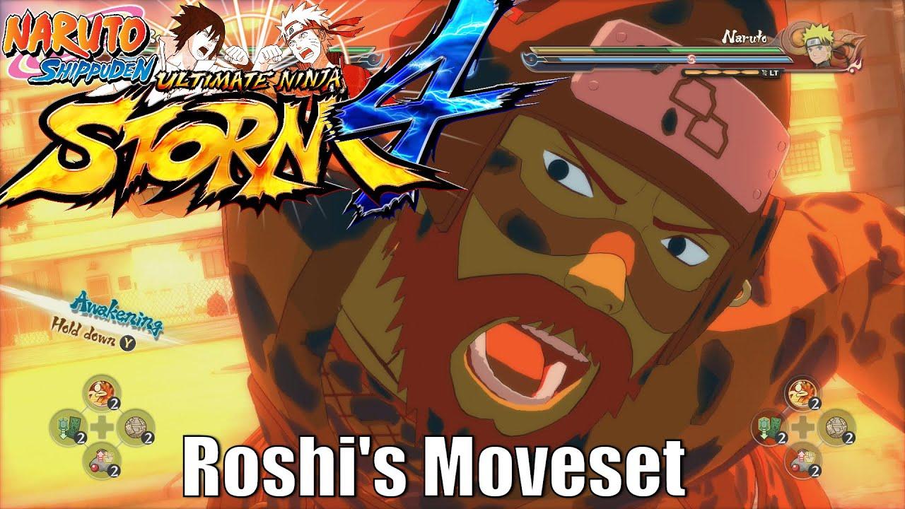 Naruto Shippuden | Ultimate Ninja Storm 4 | Roshi Four ...
