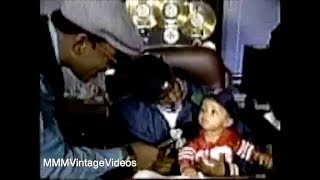 Puff Daddy shows off his Bad Boy Office and Baby Boy. Interview
