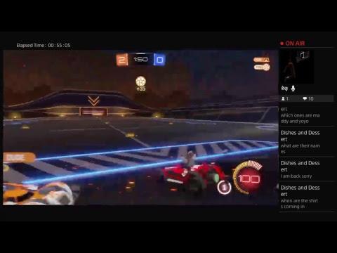 Rocket League with Squidink Tv