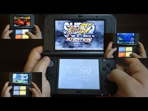 Super Street Fighter IV 3D Edition NINTENDO 3DS XL Gameplay