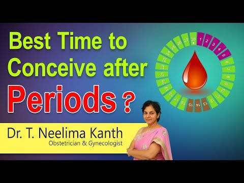 Hi9 | Best time to conceive after periods? | Dr. T. Neelima Kanth | Obstetrician & Gynecologist