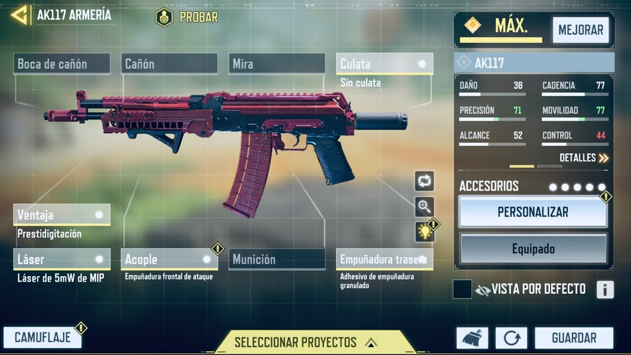AK117 - Call of duty - Wolf Gaming Soports