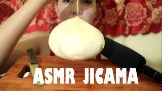 ASMR JICAMA - Eating sounds - NYNY-ASMR