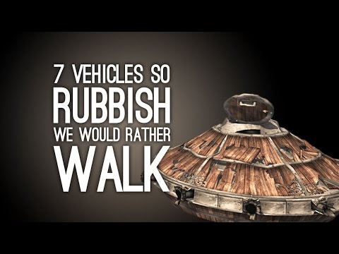 7 Videogame Vehicles So Rubbish We'd Rather Walk, Thanks