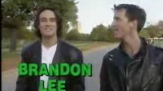 Brandon lee - MTV interview