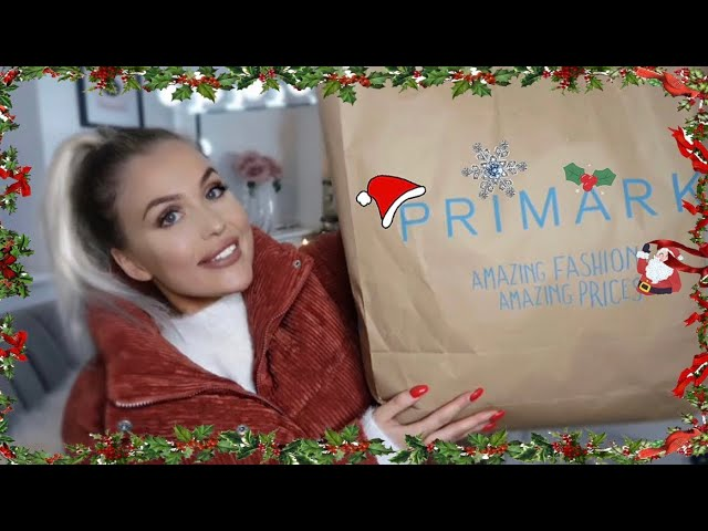 CHRISTMAS/DECEMBER  PRIMARK TRY ON HAUL + £100 GIVEAWAY  FASHION, HOME & GIFT IDEAS