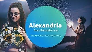 Photoshop with Alexandria's Lens - 2 of 3