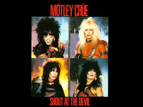 Mötley Crüe Shout at the devil Backing Track (With Vocals)