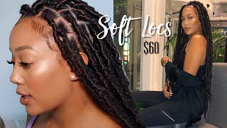 "EASIEST EXTENDED 24"" SOFT LOCS TUTORIAL $60 (Very Detailed For Beginners) + Giveaway!"