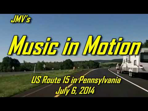 US Route 15 in Pennsylvania - from Liberty to Williamsport (reissue)