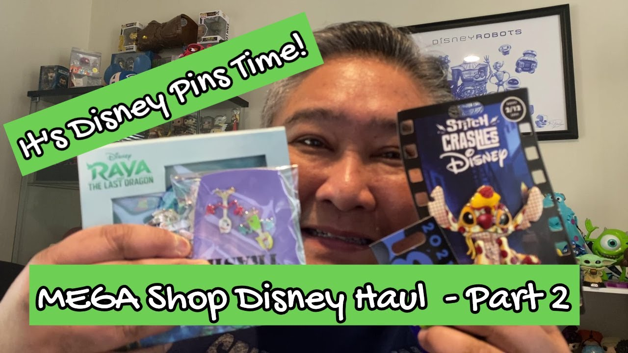 MEGA Shop Disney Haul - Part 2 || It's Disney Pins Time!