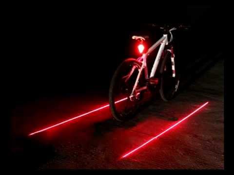Test Lampe Velo Laser Youtube