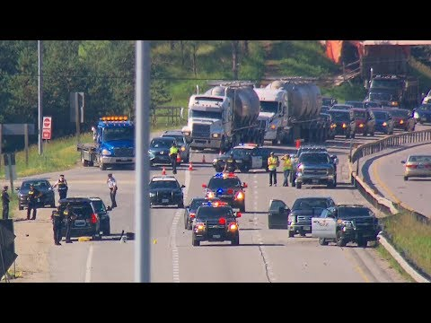 Shooting Suspect Leads Police On Highway Chase North Of Toronto
