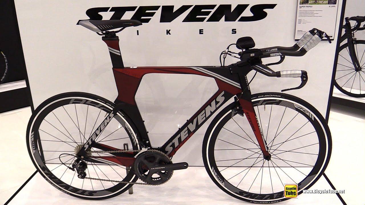 2016 Stevens Super Trofeo 9 3kg Triathlon Bike Walkaround 2015