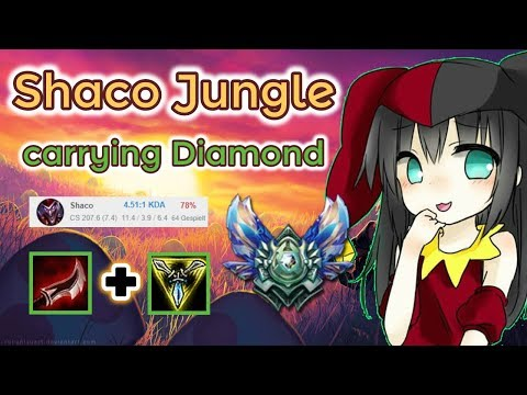 Shaco carrying Diamond [League of Legends] Full Gameplay - Road to Master - Infernal Shaco thumbnail