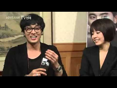 So Ji Sub and Han Ji Min - Cain and Abel - Interview - 20090218