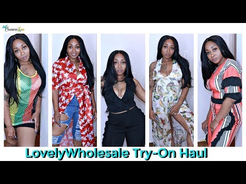 IS LOVELYWHOLESALE A SCAM ?!  LOVELYWHOLESALE CLOTHES TRY- O