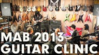 Michael Angelo Batio Full Clinic at GoDpsMusic from Dean Guitars
