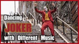 Dancing JOKER with Different Music I 영화 조커 계단 춤, 다양한 음악 버전으로 해석