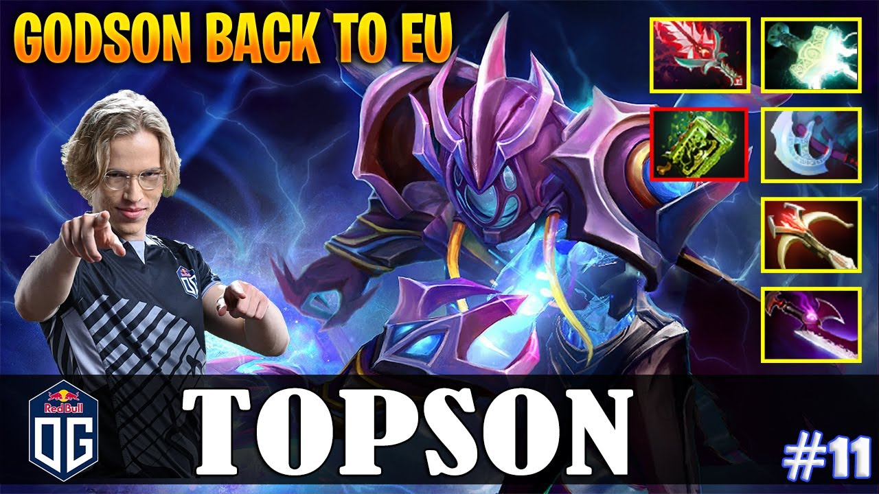 Topson – Arc Warden MID | GODSON BACK TO EU | vs Cr1t- (Earthshaker) | Dota 2 Pro MMR Gameplay #11