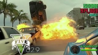 *gta_ 5)  RIDE ALONG 2 _MOVIE* CHASE SCENE - ice cube and his son  James Payton Kevin Hart