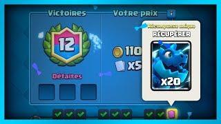 12 VICTOIRES AU DÉFI DE L'ÉLECTRO-DRAGON !! - Clash Royale