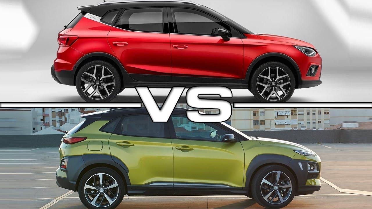 2018 Seat Arona vs 2018 Hyundai Kona - YouTube