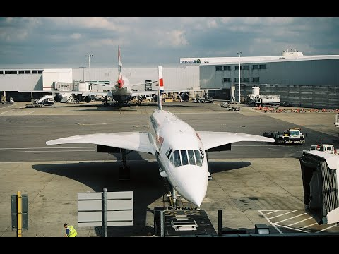 Last Commercial Flight of Concorde LHR-JFK 10/23/2003