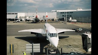 Last Concorde Flight for paying passengers London to NYC 10/23/2003