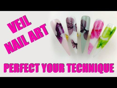 💥 VEIL NAIL ART | PERFECT YOUR TECHNIQUE 💥