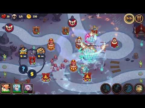 Realm Defense   World 6   Level 192   Campaign Mode   Weak Heroes   3 Stars   No Items   Okakoku