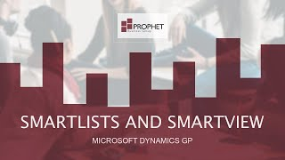 :: SmartLists and SmartView - …