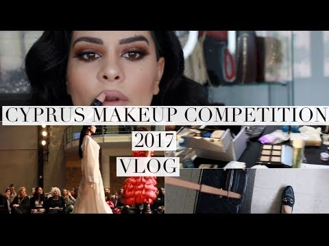 VLOG! Get Ready With Me For Cyprus Makeup Competition 2017 | IzambellaChr