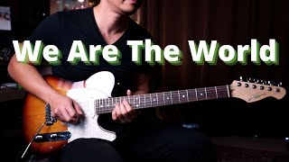 We Are The World - guitar cover version видео