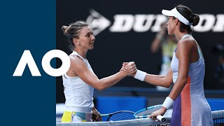 Download Simona Halep vs Garbiñe Muguruza - Extended Highlights (SF) | Australian Open 2020 Mp3 and Videos